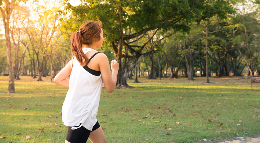 jogging - Stress Management: Dr. Mike Evans and the Single Most Important Thing for Stress